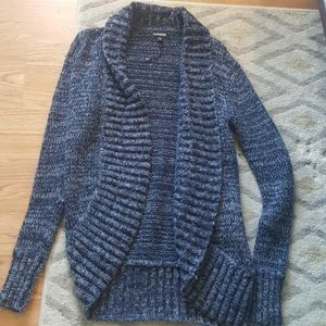 Express Blue Knitted Cardigan